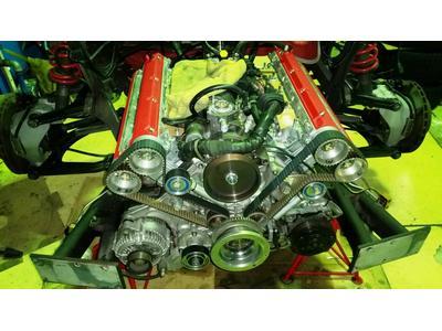 フェラーリF355のエンジンリフレッシュ