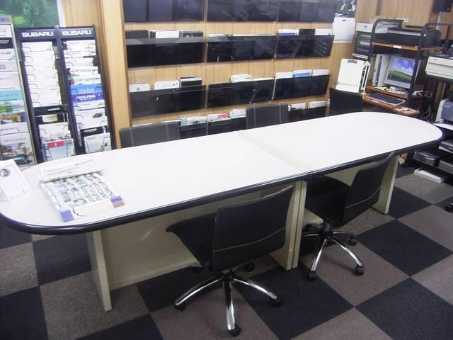 当社2階事務所は「サロン」としてごゆっくりしていただけれるスペースを設けております。