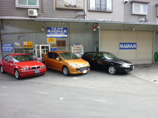CAR SHOP MAGNAM