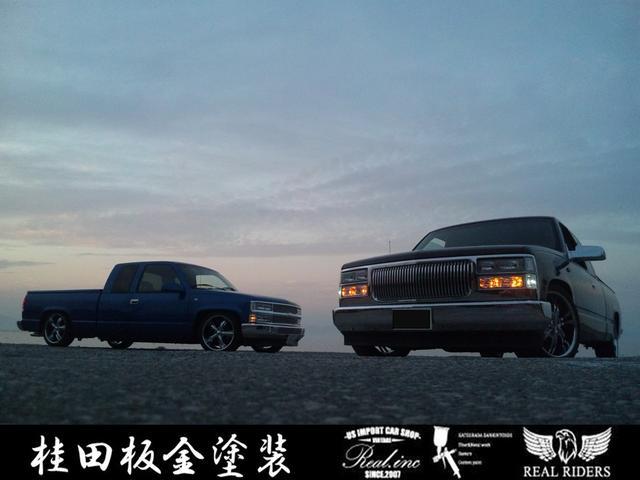 桂田板金塗装 シボレー C-1500専門店(4枚目)