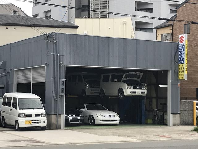 陸運局認証工場です。車検や一般修理、板金、パーツ取付などお車の事ならお任せ下さい。
