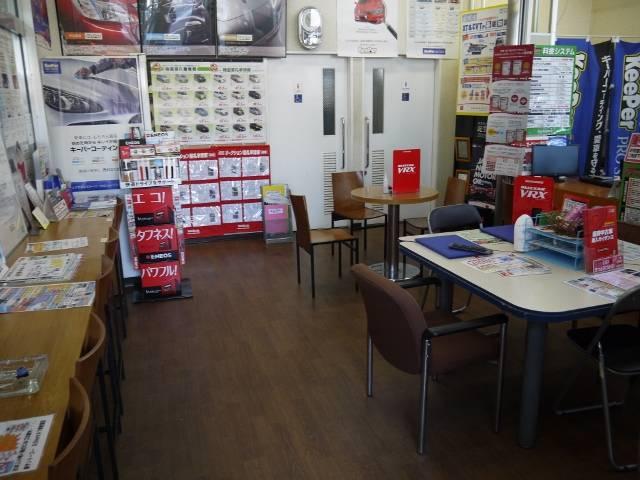待合室になります!くつろげる空間で、お客様のご来店をお待ちしております♪早期ご予約がお得です!!