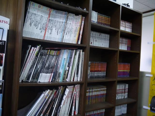 TV・マンガ・雑誌等を読みながらおくつろぎいただけます。