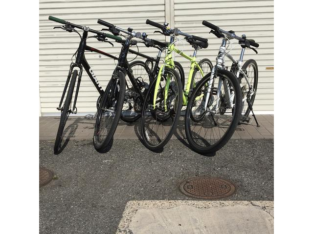 レンタルクロスバイクも承ります!http://crossbike.g-halfway.com/