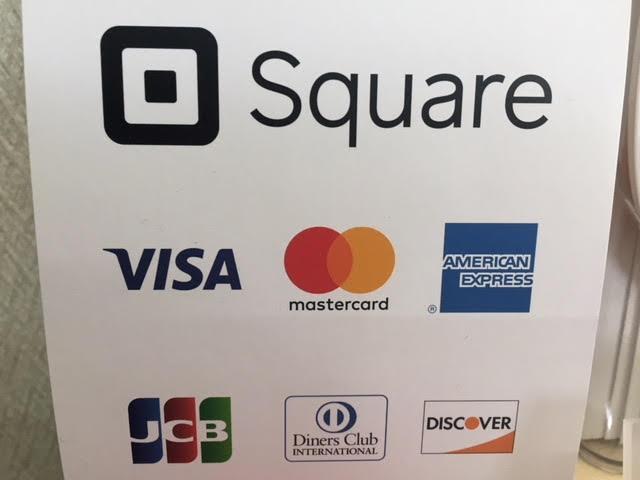 クレジットカードでのお支払い可能です!