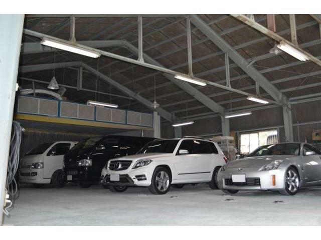 ★☆車の総合病院も自社で完備しており、大切な愛車を悪い菌からお守りいたしますので、アフターサポートも