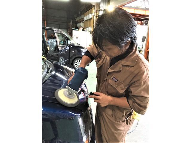 キズ・凹み・事故修理もお任せください!!