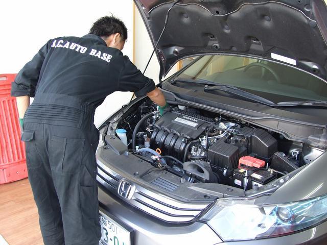 車検・整備・修理もお任せください!独自の整備システムにより安くて安心な整備修理をご提供いたします。