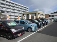 福祉車両展示中の看板が目印です☆ お気軽にご来店ください☆