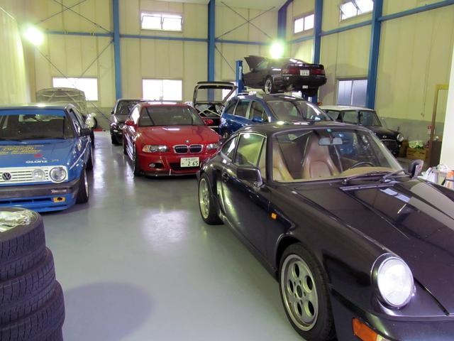 コダワリの旧めな車両が多いこともあり…基本は屋内保管となっております。