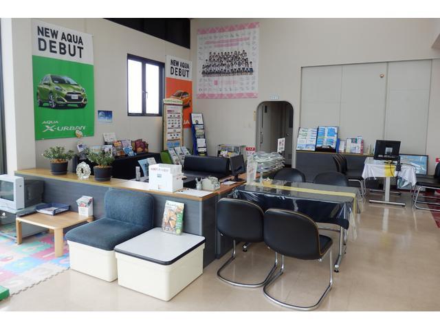 車椅子の常設や、さまざまなお客様にご来店いただける店舗を目指しています。
