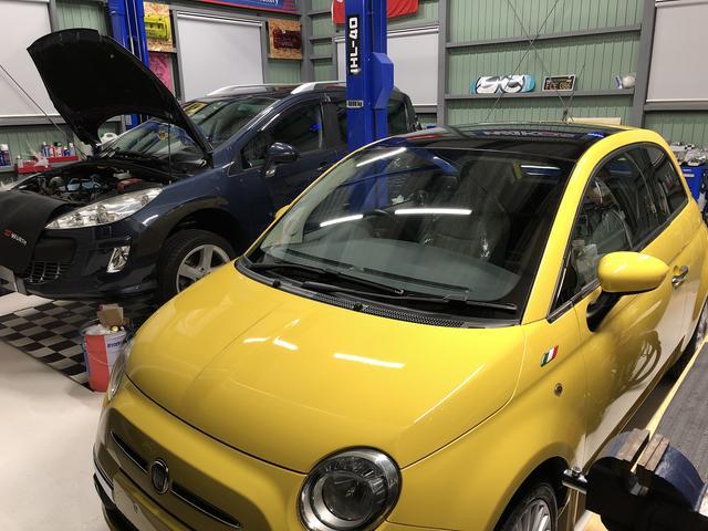イタリア・フランス車の整備を得意とします!