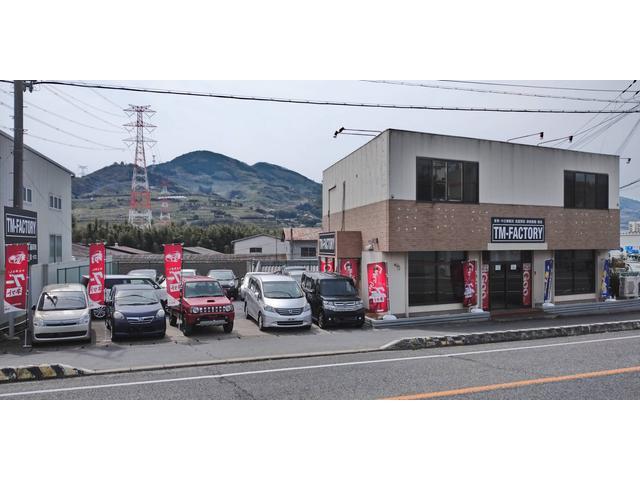 「和歌山県」の中古車販売店「TM-FACTORYかつらぎ店」