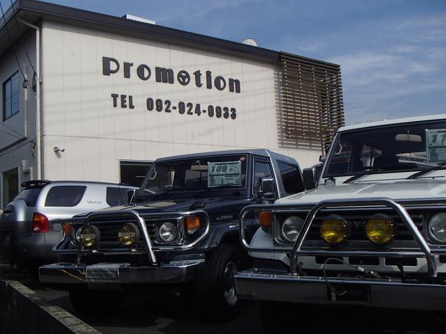 ノーマル車輌からリフトアップ等カスタム車まで幅広い品揃え。