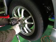 タイヤ・ホイールの取り付け
