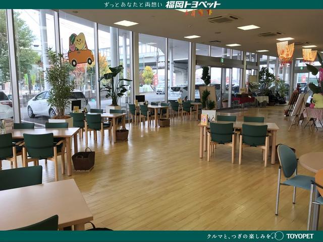 ショールームも広くてきれいですよ♪お客様がいつご来店されても良い様に、常に清潔に致しております。