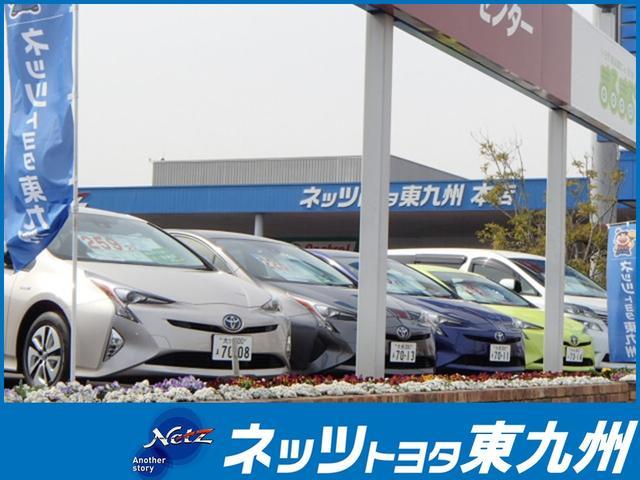 新型のプリウスを中心に道路沿いに在庫車を展示しております。駐車スペースもございますのでお気軽に♪
