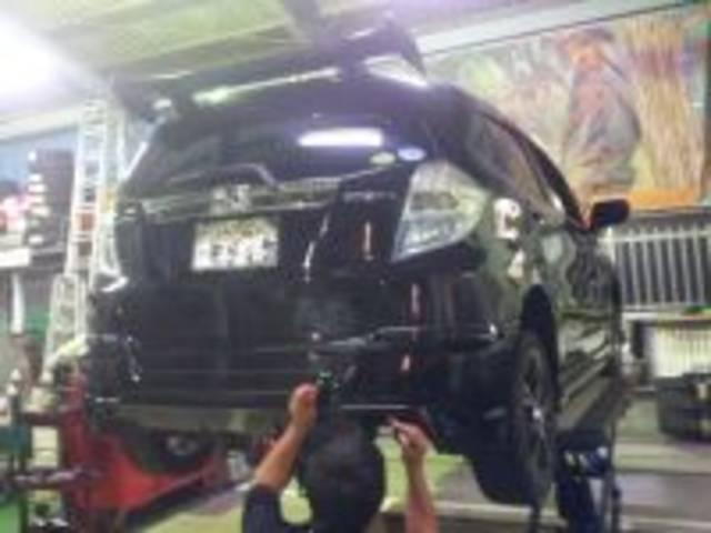『民間車検工場』(指定工場)を有しております。購入・メンテナンス・板金塗装・車検までトータルサポート