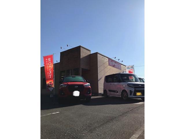 【国道沿い!広々駐車スペースあります!】ケイライフ看板が目印!326号線沿いの店舗です。