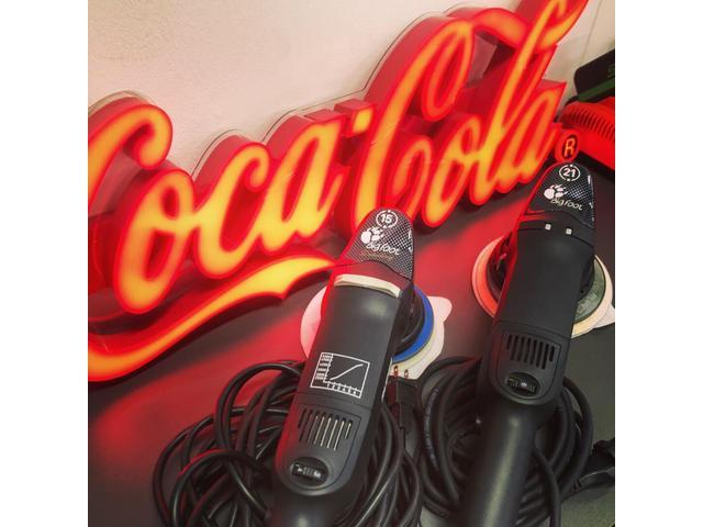 当店は高級ポリッシャールペスを使用しておりお客様の満足のいく磨きをご提供いたしております!!!