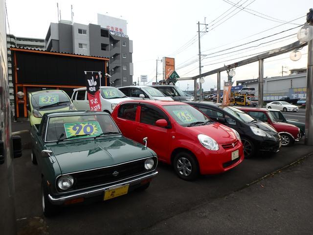 お買得のけ軽自動車・コンパクト車も、お任せ下さい。