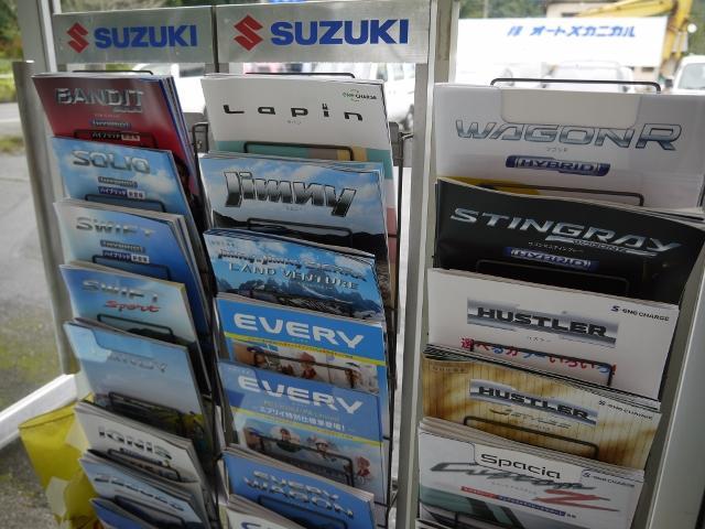 スズキ全車種の新車販売も承っております。