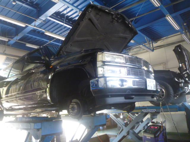 もちろん旧車の整備もお任せ下さい!実績のあるメカニックが即座に故障の原因を判断