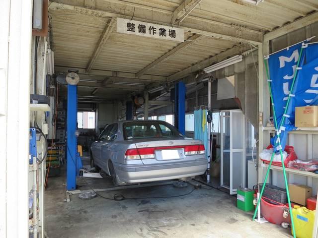 車検やオイル交換・電球交換などどうぞお気軽にご来店ください。