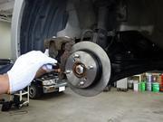 サスペンション、各アーム類、ブレーキ整備
