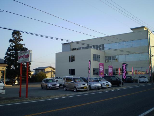 米沢店は国道13号線沿い米沢市中田町にございます!