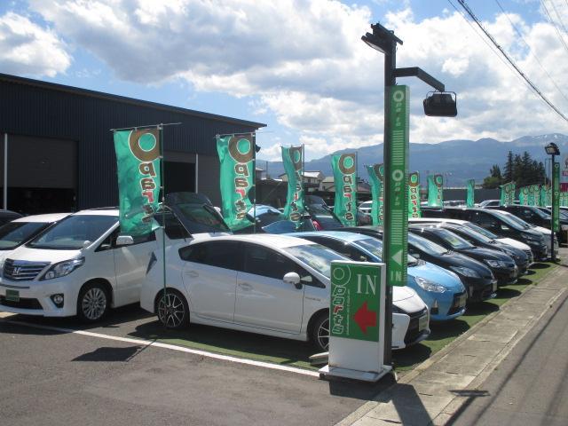 新鮮な在庫が常時30台以上!!軽自動車から高級車まで取り揃えています。