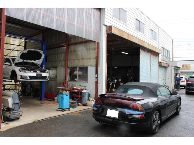 認証工場完備で、一般修理や車検、点検もお任せ下さい。