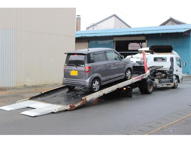 積載車完備で万が一の場合でもご安心下さい!