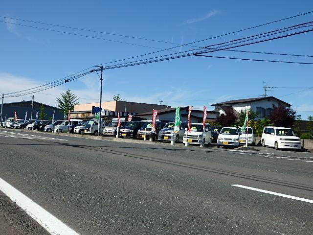 国道4号線(奥州街道)沿いに立地!七戸町役場から車で2分もかかりません!