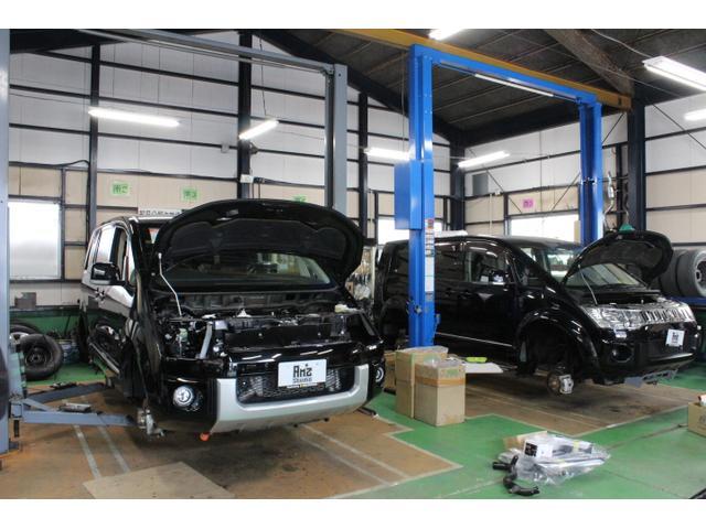 検整備や改造カスタムを実施しています。事故修理の相談もお任せください♪