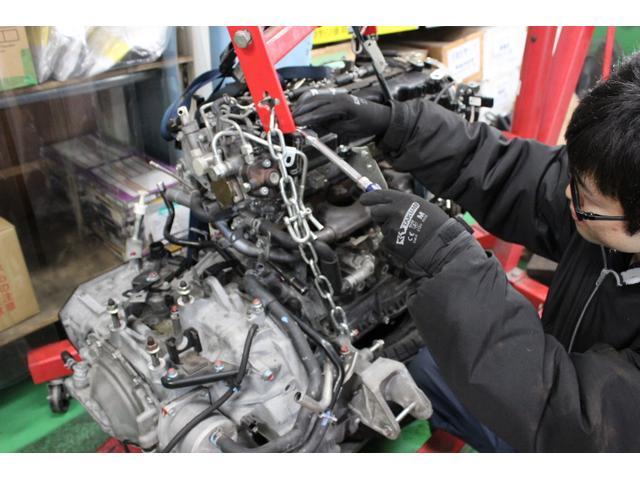 乗せ換え修理などの重整備も可能です。