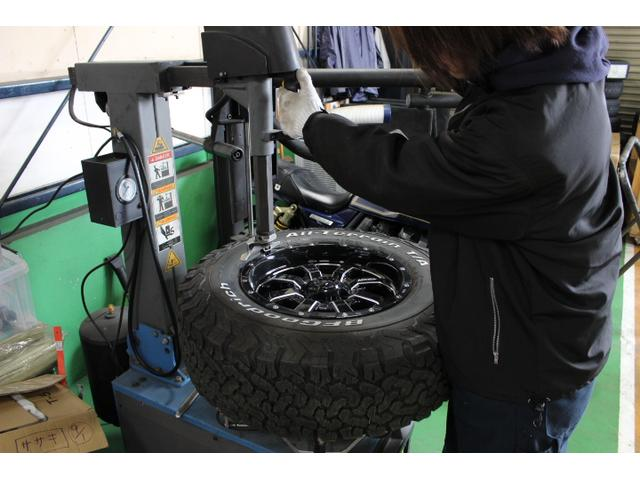 持ち込みによるタイヤ組み換えも歓迎致します。