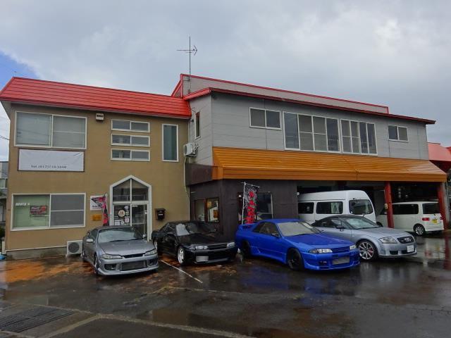 オレンジを基調とした建物が目印です!