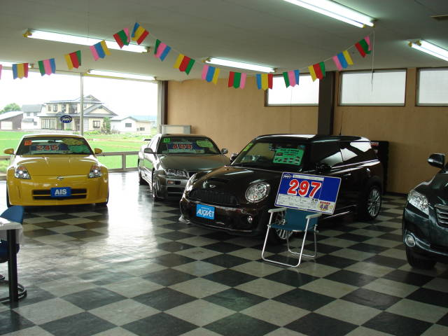 株式会社オートモビル・インスぺクション・システムにより検査しております。車両品質評価書付の展示車です