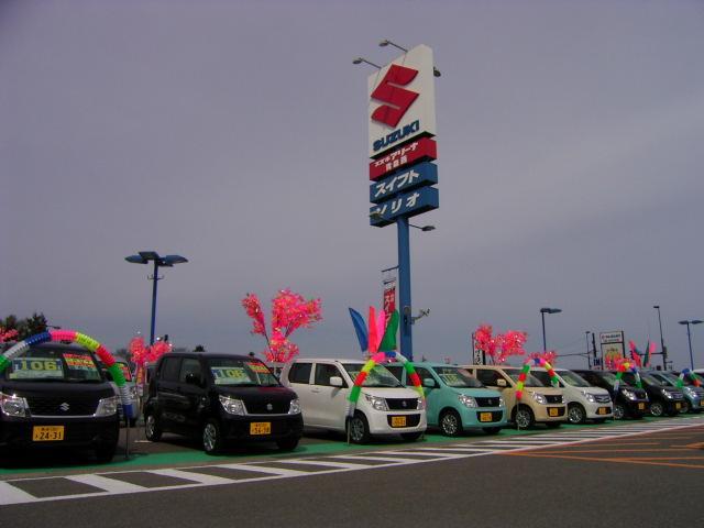 「青森県」の中古車販売店「(株)スズキ自販青森 スズキアリーナ青森西 / U's STATION青森」
