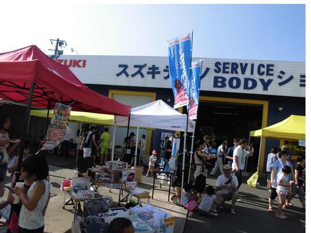 8月の【夏祭り】と、お正月の【新春初売り】など当社主催のイベントも!多くの方にご来場頂いております!