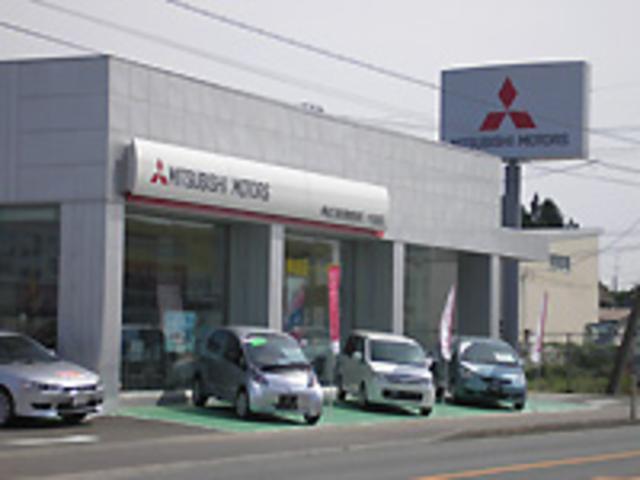 青森三菱自動車販売(株) 十和田店の店舗画像