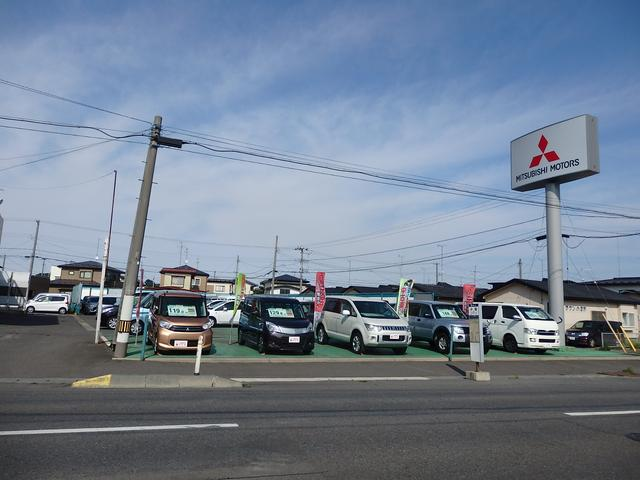 三菱ブランドを中心に中古車を展示販売中です
