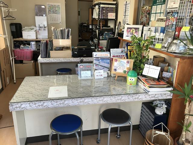 社長こだわりの挽きたてコーヒーを飲みにご来店ください。