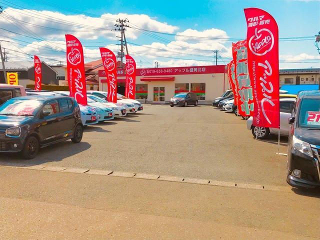 常時50台の特選買取車の展示。全車保証付販売、県外登録納車も対応いたします。