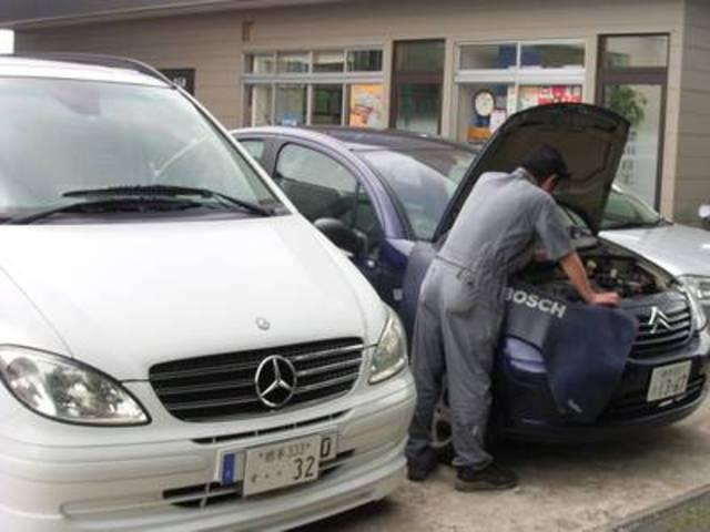 輸入車もお任せ下さい。