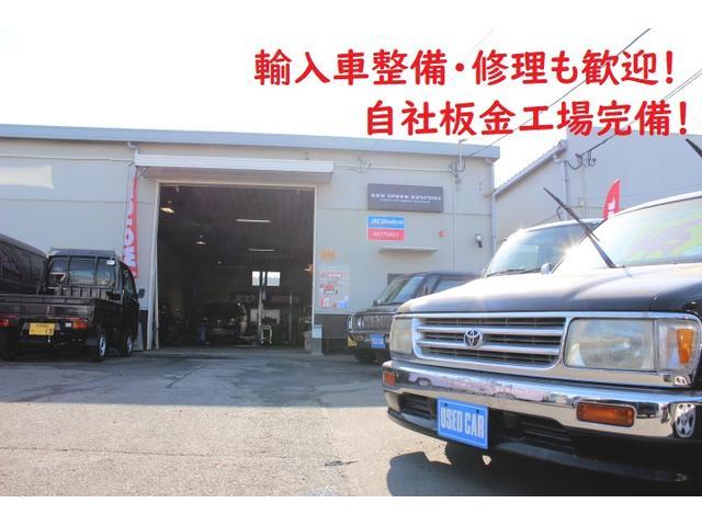 認証工場完備&自社板金工場完備!輸入車もお任せください!