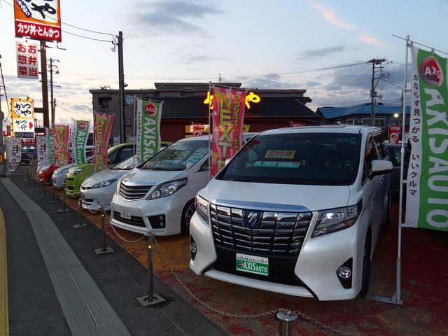 軽自動車から1BOX・輸入車までさまざまな車種ラインナップを取り扱っております!