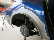 ボディ加工、補強、フェンダーの錆補修、下回り防錆塗装