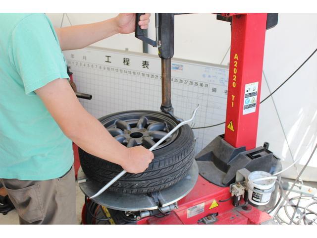 持ち込みでのタイヤ組み換えも格安でご提供!